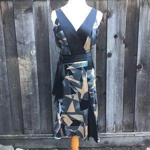 Diane von Furstenberg Rezina Rayon/Silk Wrap Dress